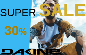 Super Sale 30% off Dakine