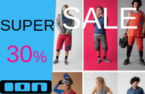 Super Sale 30% off ION