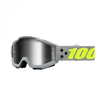 100% Accuri ACCURI Goggle, mirror silver Glas, Rahmen grey