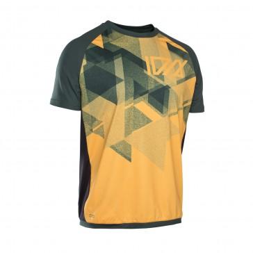 ION TRAZE AMP Enduro Tee Jersey kurzarm, smiley yellow