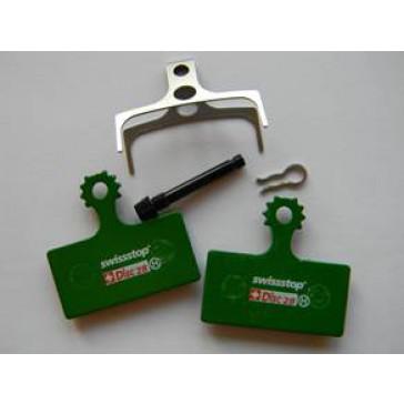 Swissstop Bremsbelag Shimano XTR(M985), XT(M785), SLX(M675) (Nr. 28) organisch