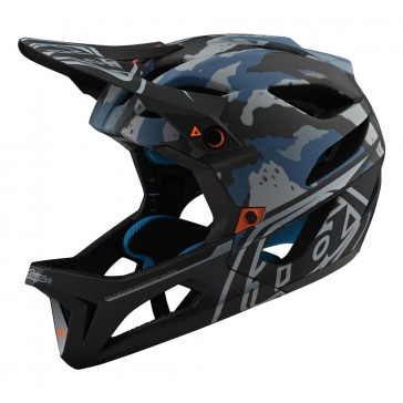 Troy Lee Designs STAGE MIPS 2020 Helm, Camo Light Blue