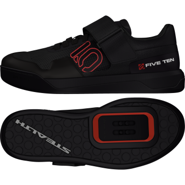 Five Ten HELLCAT PRO, SPD MTB-Schuhe, core black red