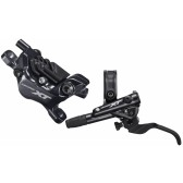 Shimano XT 20 Disc Brake Set, 4-Kolben Scheibenbremsenset, M-8120JLFXSX100 & M-8120JRRXSX170, Post Mount