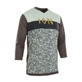 ION SCRUB AMP Tee 3/4 Mountainbike Jersey, 3/4-arm, root brown