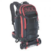 EVOC TRAIL BUILDER 30L Rucksack, black-red, 2 kg Leergewicht, one size