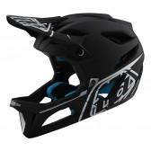 Troy Lee Designs STAGE MIPS 2020 Helm, Stealth Black/Silver