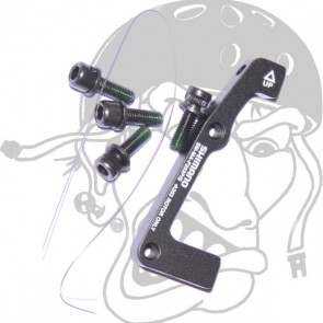 Shimano Scheibenbremsadapter vorne PM/Standard 203mm