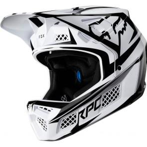 FOX RAMPAGE PRO CARBON 2019 Helm, fluid inside, Beast White