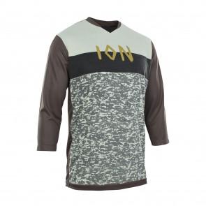 ION SCRUB AMP Tee 3/4 Mountainbike Jersey, 3/4-arm, root brown