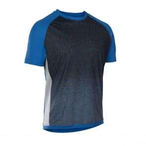 ION TRAZE_AMP Enduro Tee Jersey kurzarm torrent blue