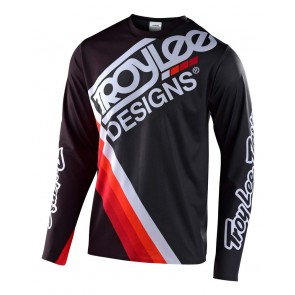 Troy Lee Designs SPRINT ULTRA Jersey 2020, langarm, Tilt Black/Gray
