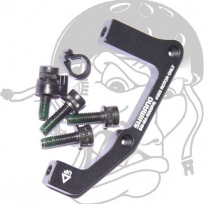 Shimano Scheibenbremsadapter hinten PM/Standard 203mm