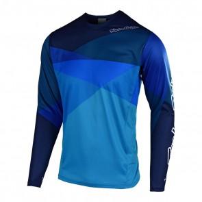Troy Lee Designs SPRINT JET LS Jersey, Herren Mountainbike Trikot, langarm, Jet Ocean blue