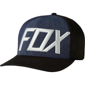 FOX Hat Cap BLOCKED OUT Flexfit, black