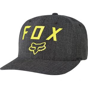 FOX Hat Cap NUMBER 2 Flexfit, black