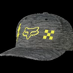 FOX Hat Cap STRIKER CHECK Flexfit, black
