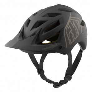 Troy Lee Designs A1 MIPS Helm MTB, classic black, 374 gr.