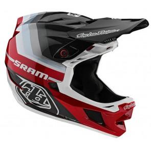 2020 Troy Lee Designs D4 Carbon MIPS Fullface MTB Helm, Mirage SRAM black/red, 1000gr bei Grösse M
