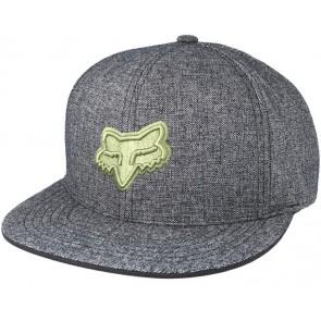 FOX Hat Cap COPIUS Snapback, one size fits all, heather black