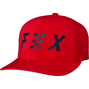 FOX Hat Cap RODKA 110 Snapback, one size fits all, red