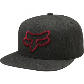 SUPER SALE 30% OFF FOX INSTILL Hat Cap, Snapback, one size fits all, heather black