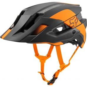 FOX Mountainbike Helm FLUX MIPS CONDUIT, black atomic orange
