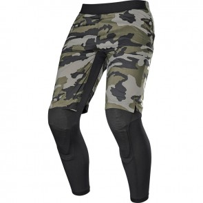 FOX Mountainbike Shorts Pants WINTERSHORTS DEFEND 2-IN-1, black & green-camo