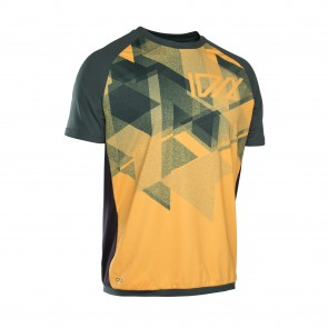 ION TRAZE AMP Enduro Tee Jersey kurzarm, smiley yellow