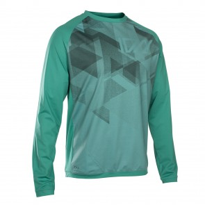ION TRAZE AMP Enduro Jersey langarm, sea green