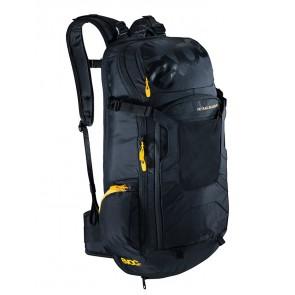 SUPER SALE 30% OFF EVOC FR TRAIL Blackline 20L Rucksack schwarz, integrierter Rückenprotektor