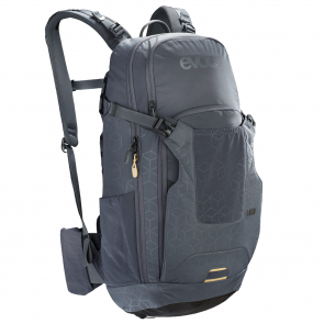 EVOC NEO 16L Rucksack, NEW AIRSHIELD PROTECTOR carbon grey