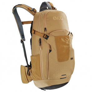 EVOC NEO 16L Rucksack, NEW AIRSHIELD PROTECTOR gold