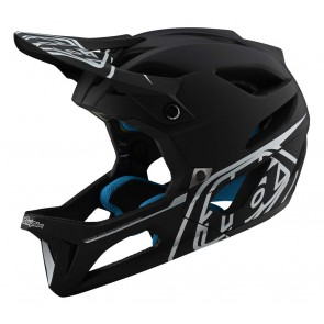 Troy Lee Designs STAGE MIPS 2020 Helm, Stealth Black/Silver, EINZELSTÜCK!