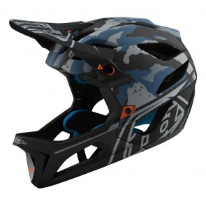 Troy Lee Designs STAGE MIPS 2020 Helm, Camo Light Blue, EINZELSTÜCK!