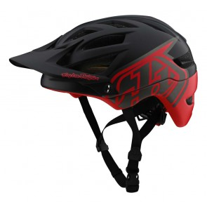 2020 Troy Lee Designs A1 MIPS Helm MTB, Classic Black/Red, 374 gr.