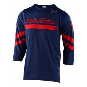 Troy Lee Designs RUCKUS 3/4 Jersey 2020, 3/4 arm, Factory Navy/Red, EINZELSTÜCK!