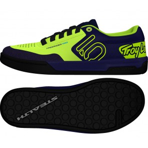 Five Ten FREERIDER PRO Troy Lee Designs Special Edition, Flatpedal Schuh, carbon solar yellow