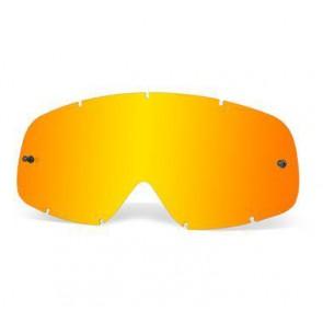 OAKLEY Goggle Ersatzglas für verschiede Modelle, Lexan Fire Iridium® antifog