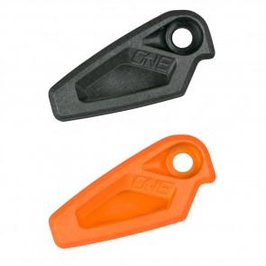 OneUp Components Chainguide Kettenführung Top Kit Ersatzteil, 1 set schwarz & orange