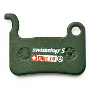 SUPER SALE 30% OFF Swissstop Bremsbelag Shimano XTR XT LX Saint (Nr. 16S) metallisch