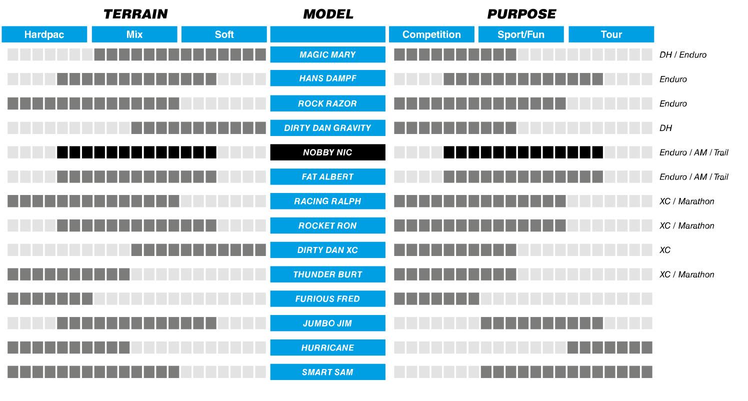 Schwalbe Model chart